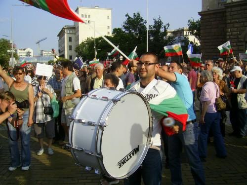 На протест за оставка на Орешарски. | Качено на 01.07.2013 в 23:00 часа | ГеоргиКузманов