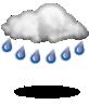 силен дъжд