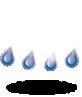 умерен дъжд