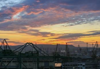 Kaloyana101 | Пристанище Варна - изток. След залеза. | 36 харесвания