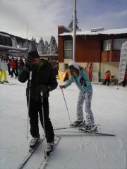 Adriana Simeonova | Първи опит в ските :) | 15 харесвания