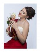 Elina Paunova | Рокля с гайтани и пафти | 543 харесвания